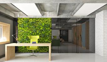 Проект интерьера офиса проектного института от Anna Schatz Design