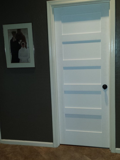 Replacing Interior Hollow Core Doors With Solid Shaker Style Doors.