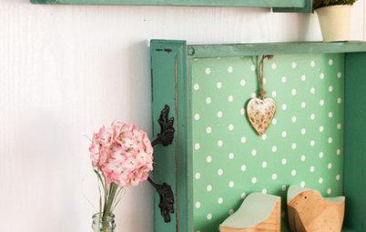 Idée récup' : Personnalisez les tiroirs de vos vieux meubles !
