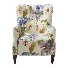 Paradise Upholstered Armchair, Multicolored