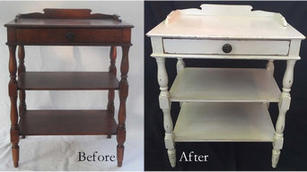 Cottage Chic Style Side Table