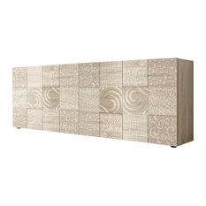Miro II Decorative Sideboard, 241 cm, Samoa Oak