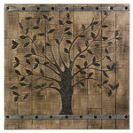 IMAX Worldwide Home - Tree of Life Wood Wall Panel - *Please Note*