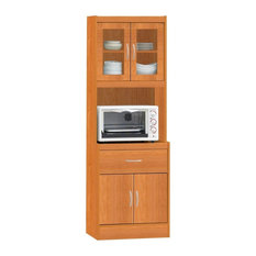 Beau Hodedah Import Inc.   Kitchen Cabinet, Cherry   China Cabinets And Hutches