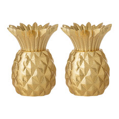 Bloomingville Aruba Gold Salt and Pepper Shaker Set