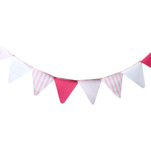 Child's Bedroom Decorative Bunting, Pretty in Pink