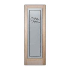 20x80 traditional interior doors houzz sans soucie art glass pantry door family kitchen etched glass door 24x1 planetlyrics Gallery