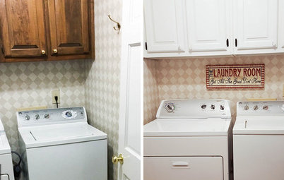 Reader Laundry Room: An Updated Look for $800 in Georgia