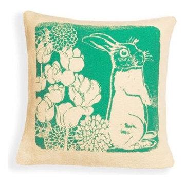 Erin Flett Pillow   Small Bunny