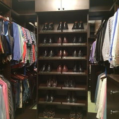 Mens Master Closet   Designer: Carol Shaw