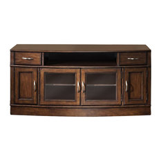 Liberty Hanover Entertainment TV Stand Cherry Spice