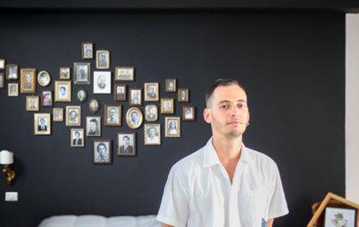 My Houzz: Da Alek, Seminterrato Trasformato con Foto e Creatività