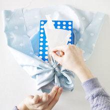 DIY : Customiser une boîte à mouchoirs grâce à un furoshiki