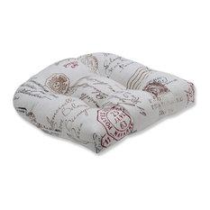 French Postale Wicker Seat Cushion