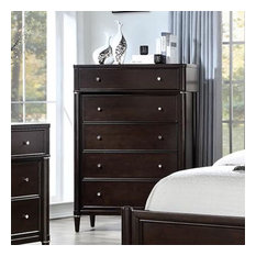 Liberty Essex 5-Drawer Chest Dark Truffle