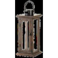 Lodge Wooden Lantern