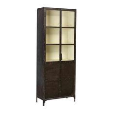 Cleveland Vintage Industrial Display Cabinet