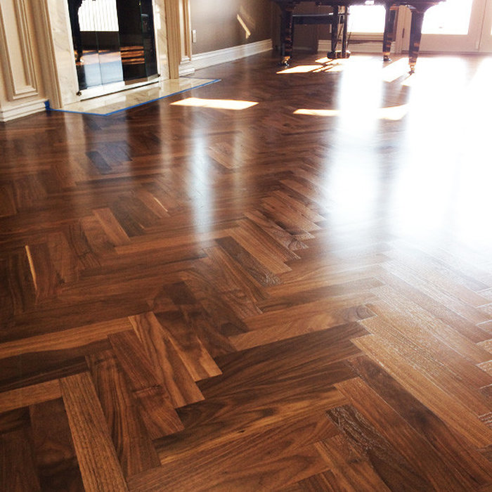 Sarah's Walnut Herringbone - Salt Lake City