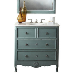 Popular Transitional Bathroom Vanities And Sink Consoles by Chans Furniture