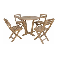 Good Price Piece Descanso Bistro Set With Round Table And - Anderson round table