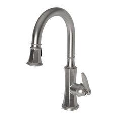 Newport Brass 1200-5103 Metropole Pullout Spray High-Arch Kitchen Faucet