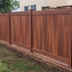 Design Fencing Design fencing inc staten island ny us home wood grain vinyl and allen block workwithnaturefo