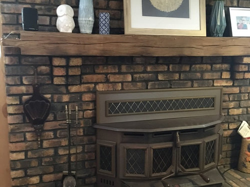 Fireplace Tweak Or Redo How Can I Change Brick Color Or