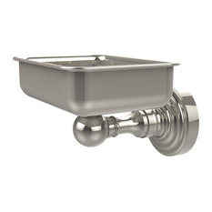Waverly Place Collection Wall Mounted Soap Dish, Polished Nickel