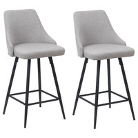 Tomas Upholstered Counter Stools, Set of 2, 25""