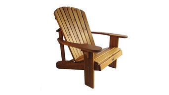 Adirondack Chair, Wide, Finished