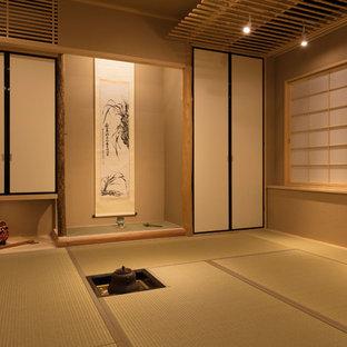東京23区の和風のおしゃれな住まいの写真