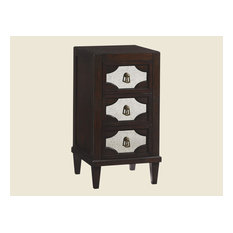 Emma Mason Signature Hans Prince Lucerne Mirrored Nightstand In Brentwood