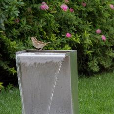Fontaine de jardin moderne for Fontaine asiatique jardin
