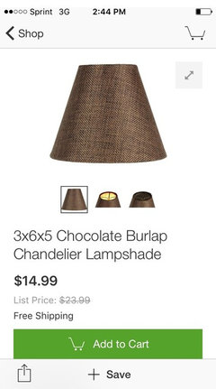 Chandelier Shades - YES or NO