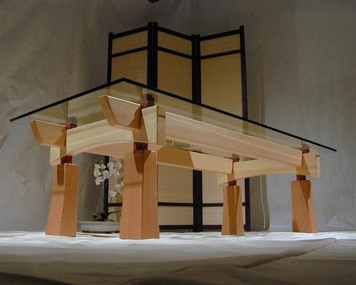craftsman timber frame furniture coffee tables