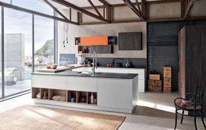 Guida Houzz: Tutti Materiali per il Piano della Cucina