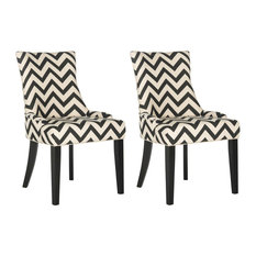 Lester Dining Chairs Set Of 2 Black/White