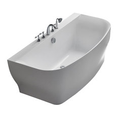 Verona Acrylic Bathtub, White
