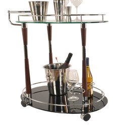Contemporary Bar Carts by Old Modern Handicrafts, Inc.