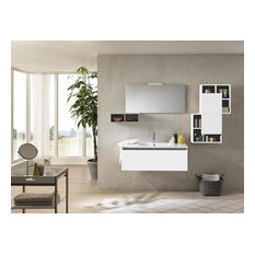Ibiza 7-Piece Bathroom Vanity and Shelf Set