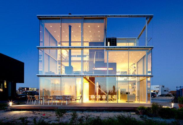 Minimalistisch Häuser by Krenzer   Architektur in Glas