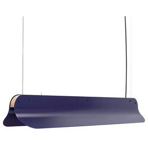 Vij5 Long Shade Pendant, Blue, Large