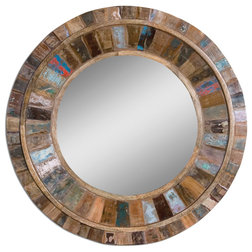 Farmhouse Wall Mirrors by Innovations Designer Home Decor & Accent Furniture