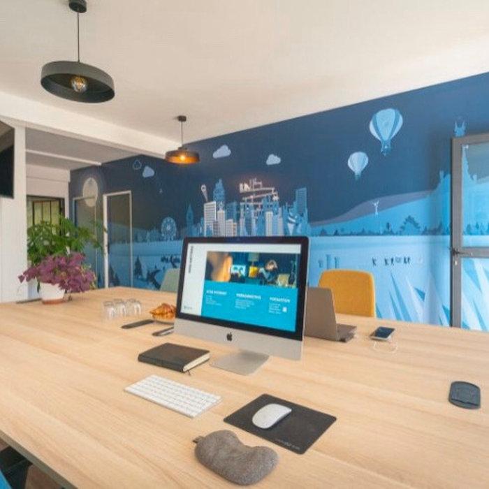 Aménagement de bureaux pour entreprise de création de site internet