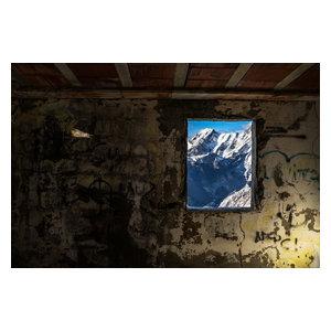 "Pixtury ""Heidi's House"" Photograph, Canvas Print, 70x100 cm"