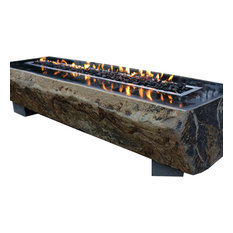 Fiamma Natural Basalt Long Table, Propane Burner