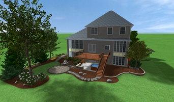 Landscape Design Perspective Drawings