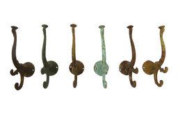 Set of 6 Antique Hooks