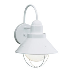 white outdoor lights patio kichler seaside light outdoor wall in white lights and sconces 50 most popular for 2018 houzz