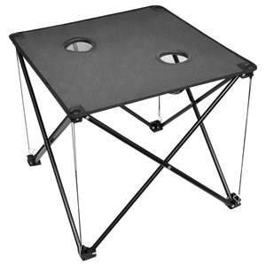 Foldable Camping Table, Grey